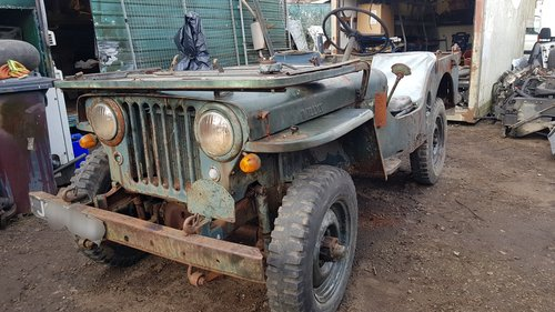1948 Willys jeep barn find rare For Sale (picture 1 of 6)