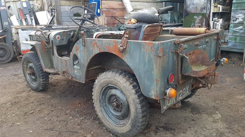 1948 Willys jeep barn find rare For Sale (picture 2 of 6)