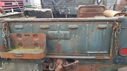 1948 Willys jeep barn find rare For Sale (picture 5 of 6)