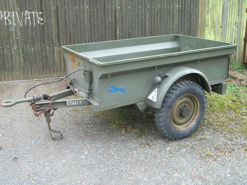 1947 willys jeep trailer For Sale (picture 1 of 4)