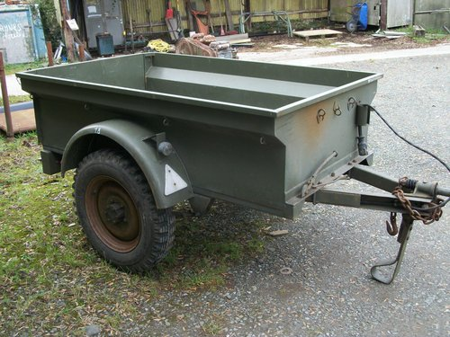1947 willys jeep trailer For Sale (picture 3 of 4)