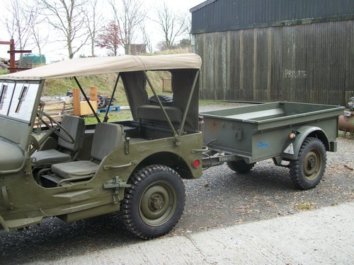 1947 willys jeep trailer For Sale (picture 4 of 4)