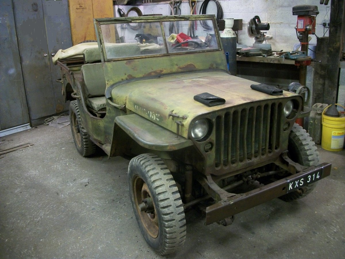 1943 willys ford jeep SOLD (picture 1 of 6)