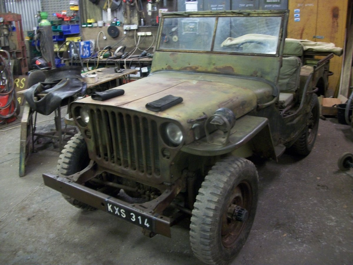 1943 willys ford jeep SOLD (picture 2 of 6)