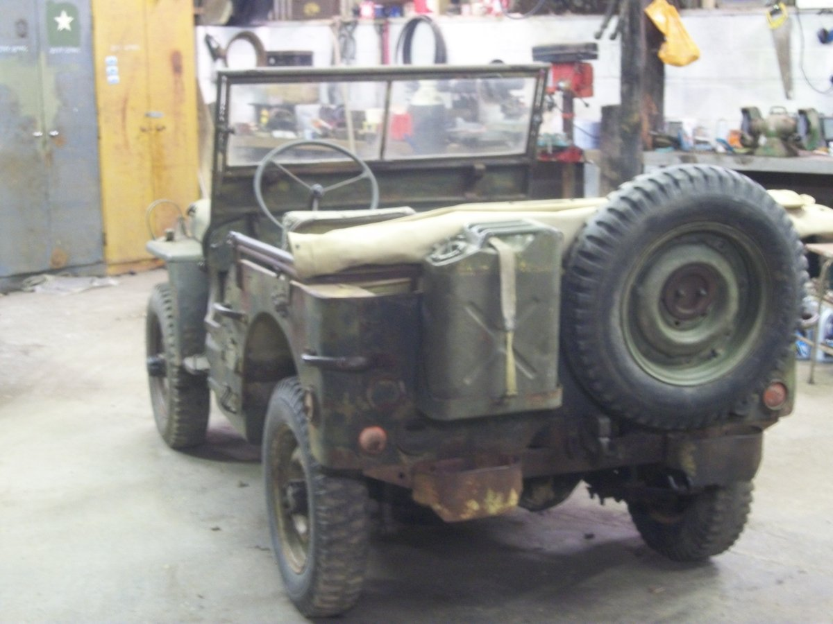 1943 willys ford jeep SOLD (picture 6 of 6)