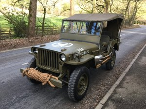 MB Willys feb 1945 For Sale