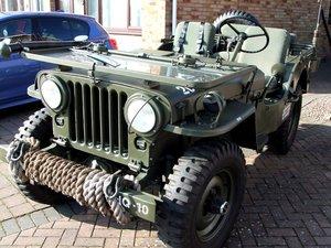 Original 1951 M38 Army Jeep For Sale