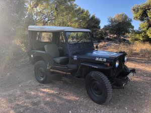 1952 Willy's M38 Military Jeep For Sale