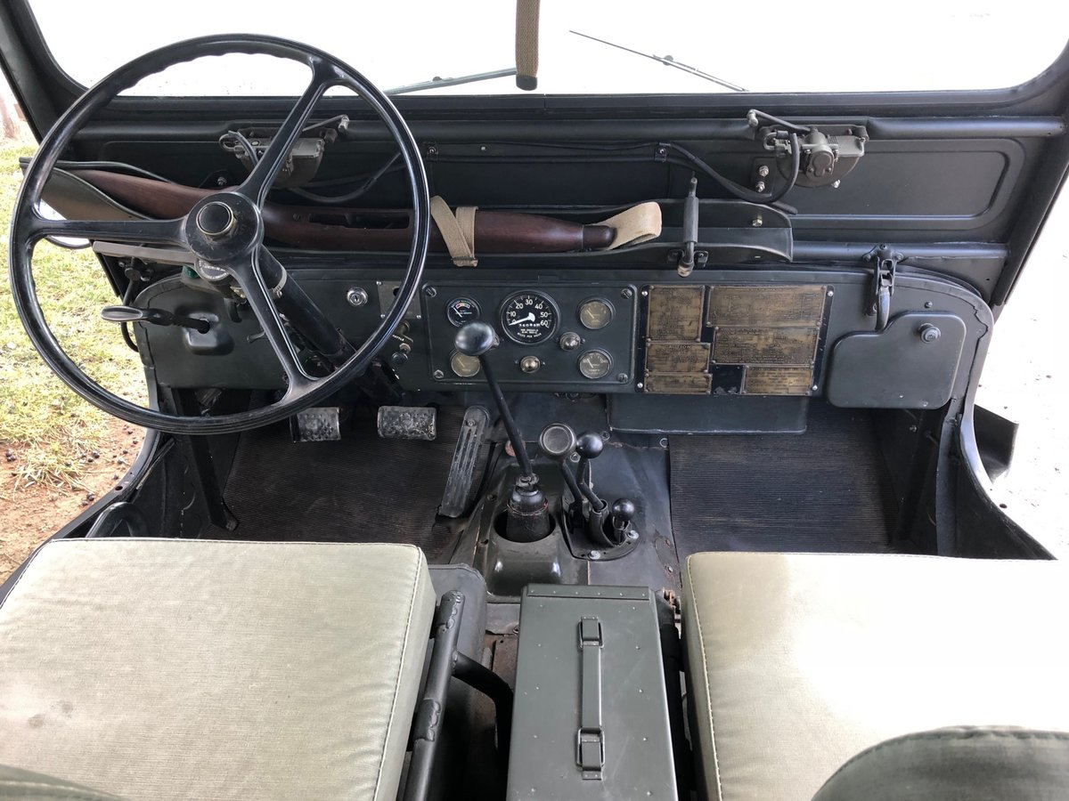 1952 Willy's M38 Military Jeep For Sale (picture 4 of 6)
