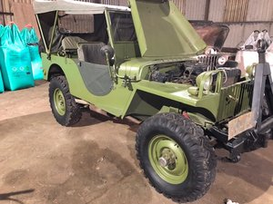 1941 willys jeep MA replica For Sale