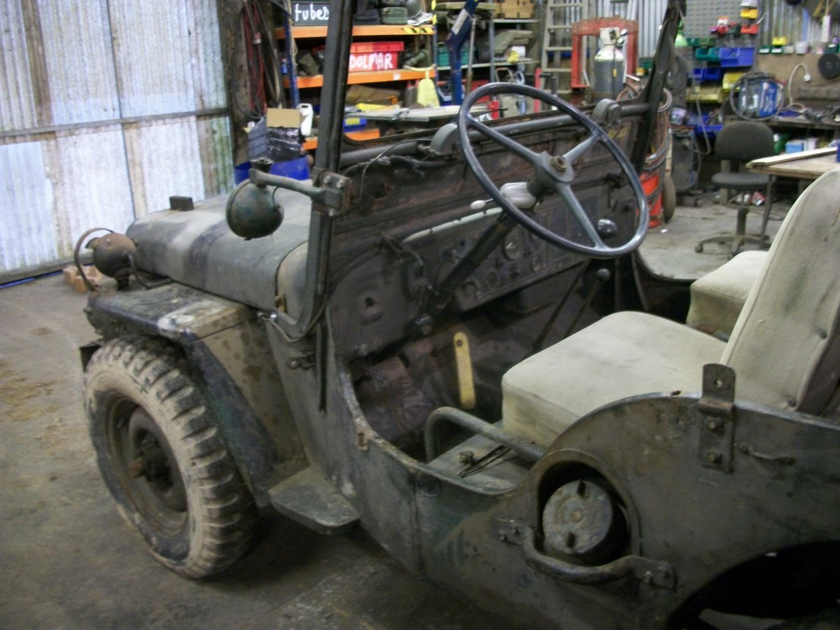 1952 willys jeep m38 flat fender For Sale (picture 5 of 6)