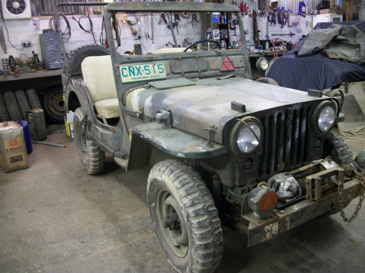1952 willys jeep m38 flat fender For Sale (picture 6 of 6)