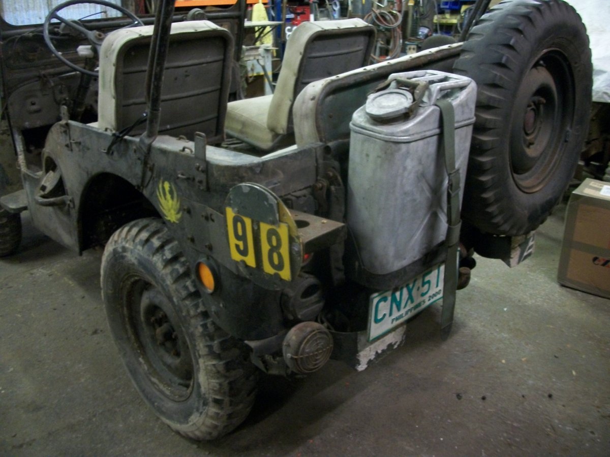 1952 willys jeep m38 flat fender For Sale (picture 4 of 6)