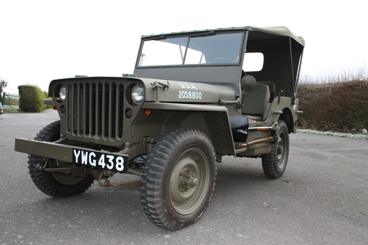 FORD GPW WILLYS JEEP 1942 £12,000 RESTORATION For Sale (picture 1 of 6)