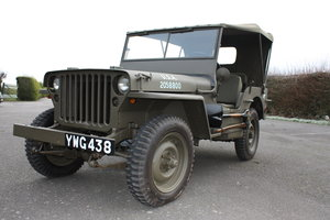 FORD GPW WILLYS JEEP 1942 £12,000 RESTORATION For Sale