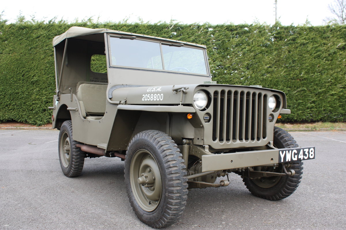 FORD GPW WILLYS JEEP 1942 £12,000 RESTORATION For Sale (picture 2 of 6)