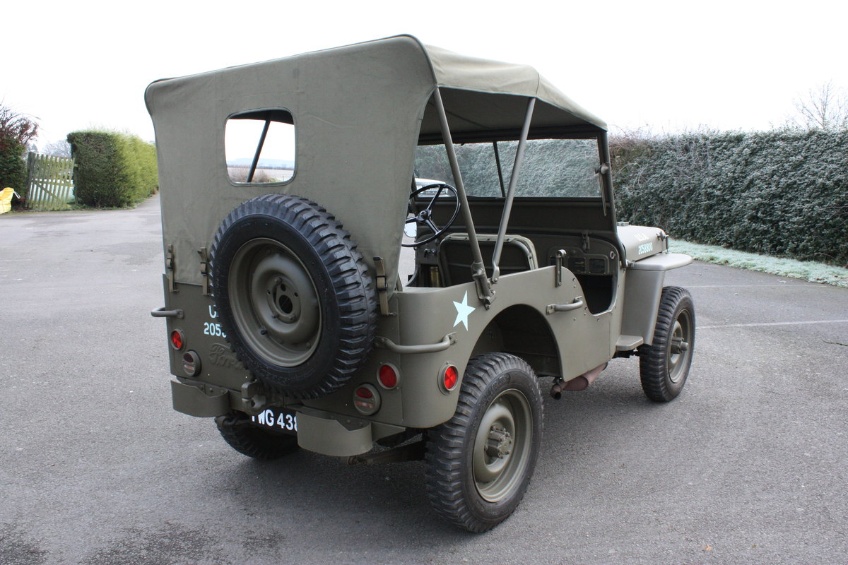 FORD GPW WILLYS JEEP 1942 £12,000 RESTORATION For Sale (picture 3 of 6)