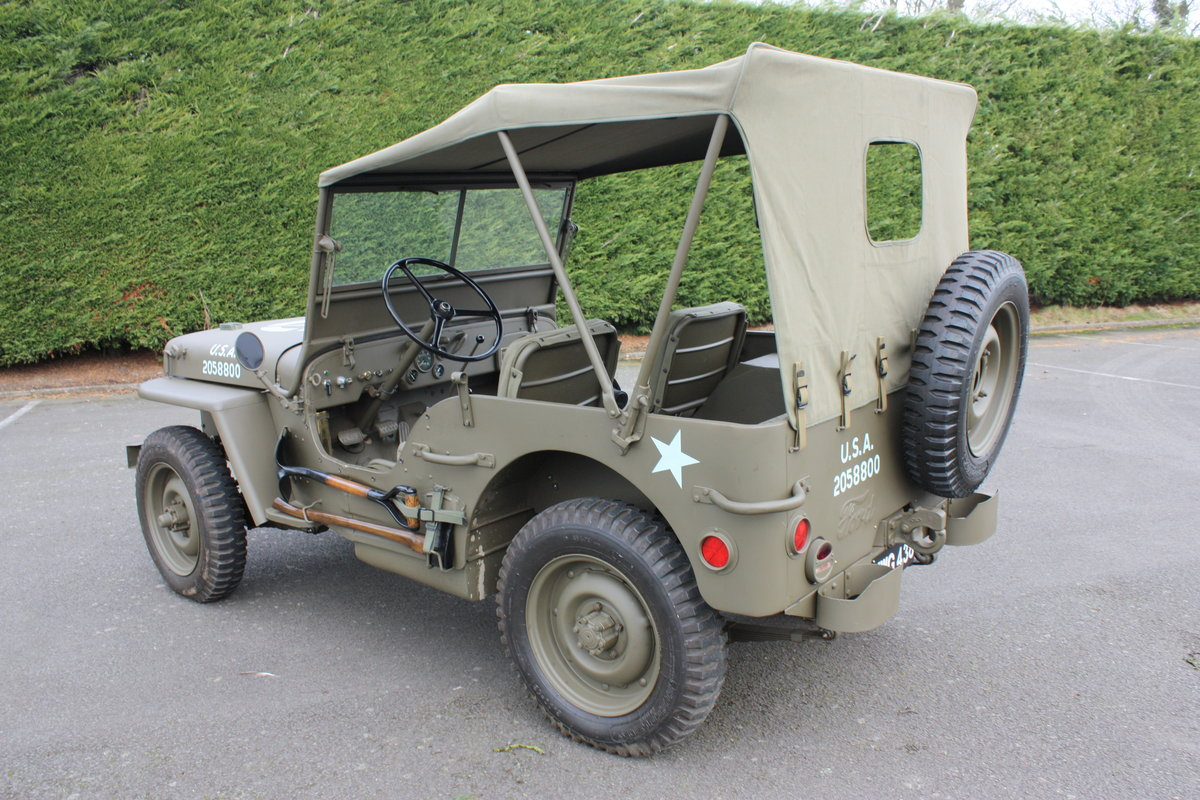 FORD GPW WILLYS JEEP 1942 £12,000 RESTORATION For Sale (picture 4 of 6)