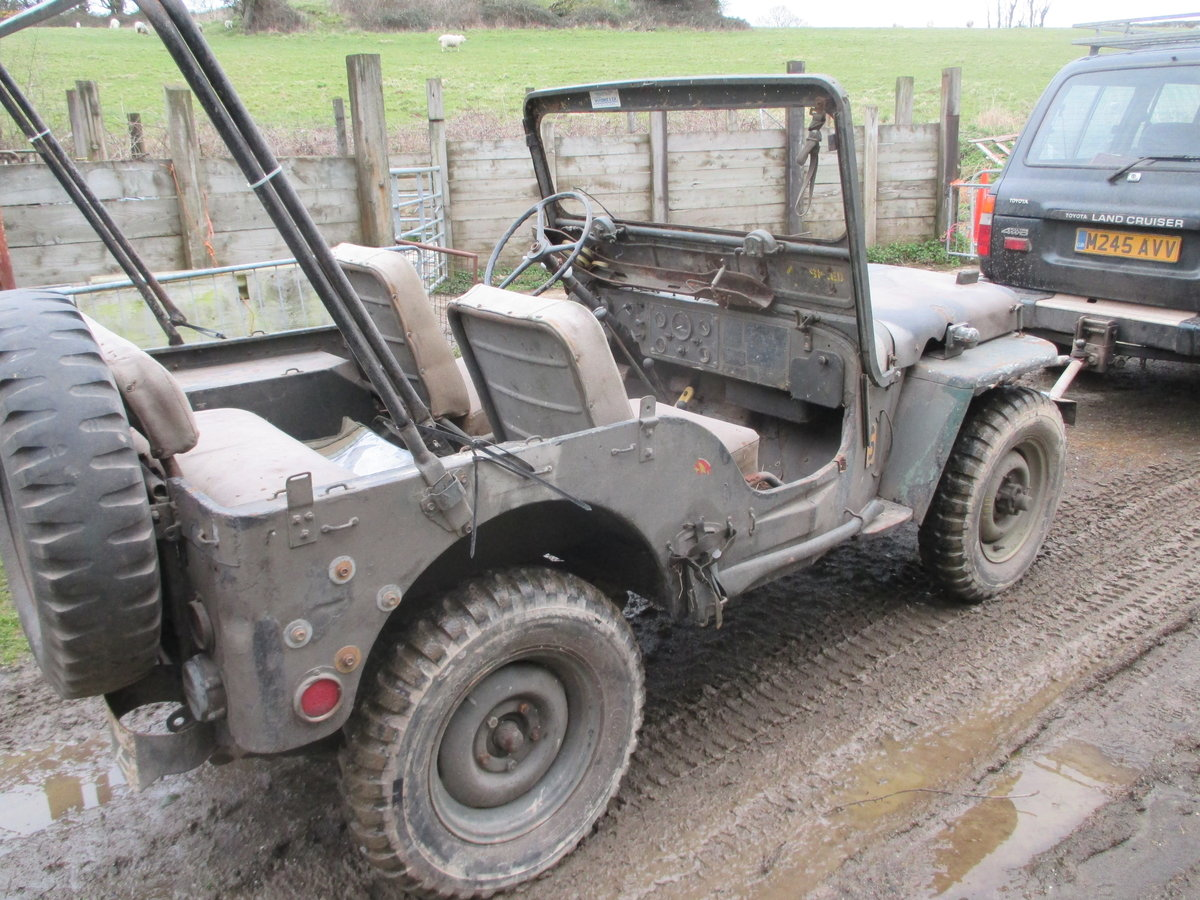 1952 willys jeep m38 flat fender For Sale (picture 2 of 6)