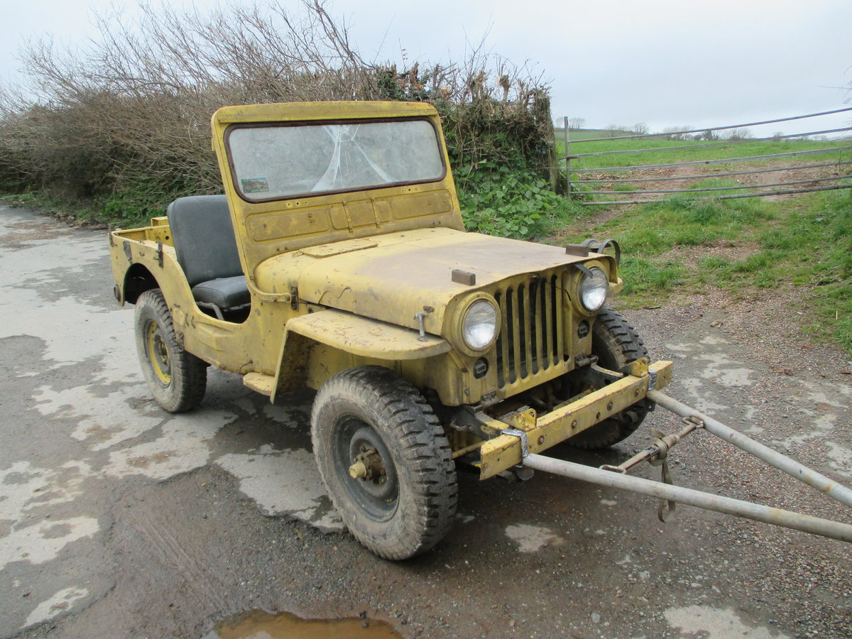 1952 willys jeep m38 flat fender For Sale (picture 3 of 6)