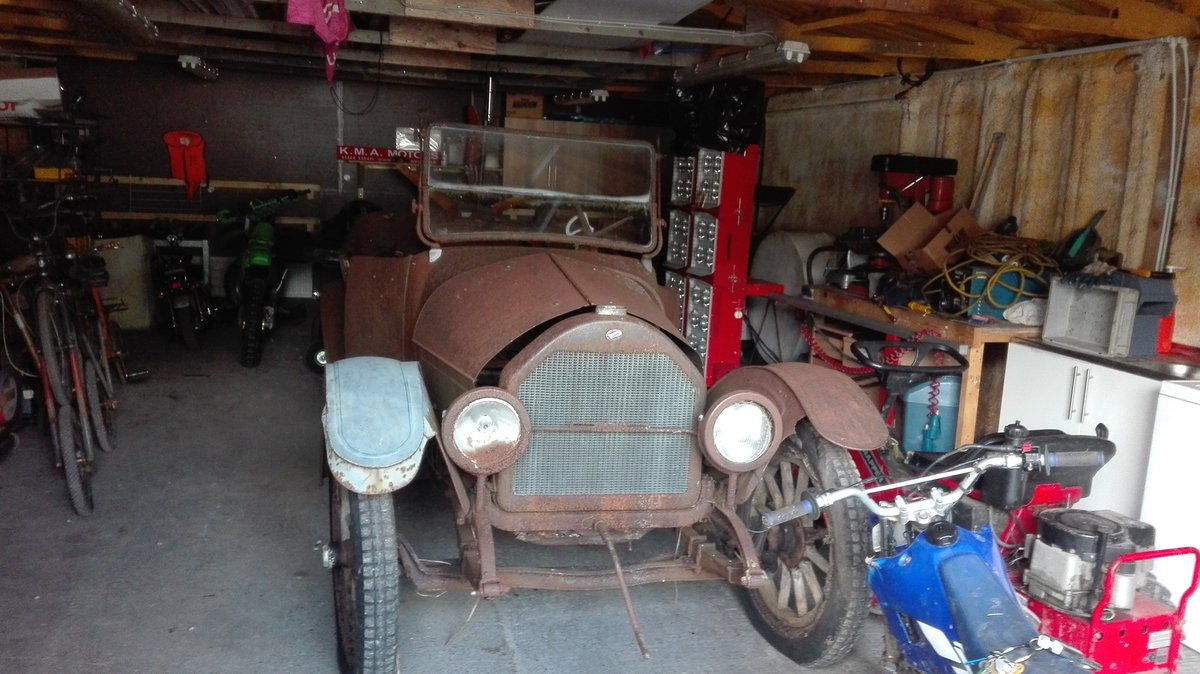 Barn find WillyS overlander 1917 For Sale (picture 2 of 6)
