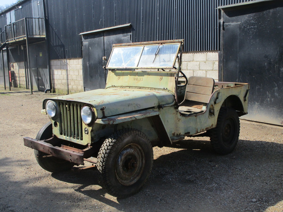 Willys CJ2A 1946 73 Year old Jeep Sat Decades. Rare Find. SOLD (picture 1 of 6)
