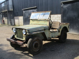 Willys CJ2A 1946 73 Year old Jeep Sat Decades. Rare Find. For Sale