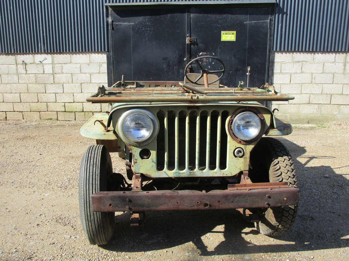Willys CJ2A 1946 73 Year old Jeep Sat Decades. Rare Find. SOLD (picture 5 of 6)