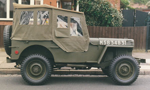 1943 Jeep for sale, fully restored, drive away.