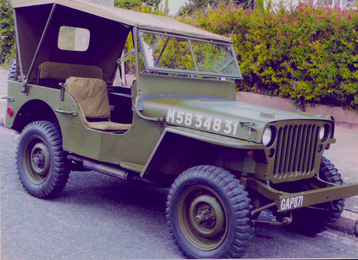1943 Jeep for sale, fully restored, drive away. For Sale (picture 3 of 5)