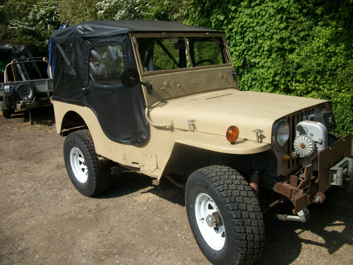 1947 willys jeep cj hotrod For Sale (picture 1 of 4)