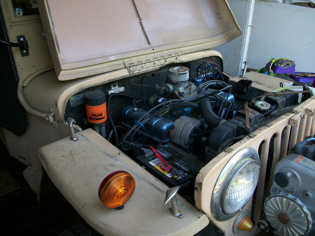 1947 willys jeep cj hotrod For Sale (picture 2 of 4)