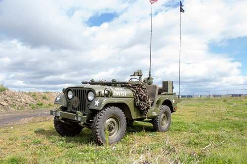1953 Willy M38-A1 Jeep at Morris Leslie Classic Auction 25th May SOLD by Auction (picture 1 of 6)