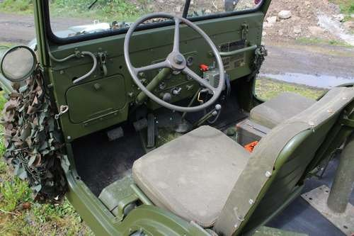 1953 Willy M38-A1 Jeep at Morris Leslie Classic Auction 25th May SOLD by Auction (picture 3 of 6)