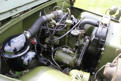 1953 Willy M38-A1 Jeep at Morris Leslie Classic Auction 25th May SOLD by Auction (picture 4 of 6)