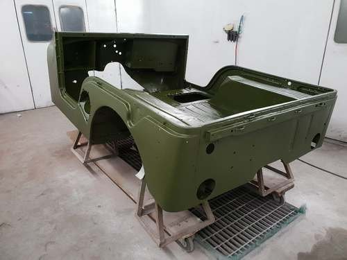 1953 Willy M38-A1 Jeep at Morris Leslie Classic Auction 25th May SOLD by Auction (picture 6 of 6)
