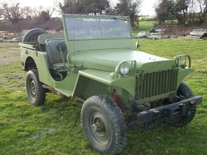 1941 willys jeep MA replica