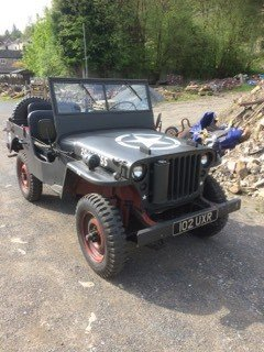1943 willys ford gpw jeep SOLD (picture 1 of 3)