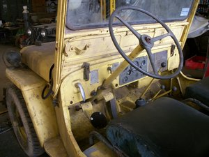 1952 willys military jeep m38 airforce