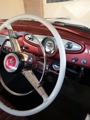 1955 Willys , 6 Cylinder Hurricane Motor , 3 speed box For Sale (picture 2 of 6)