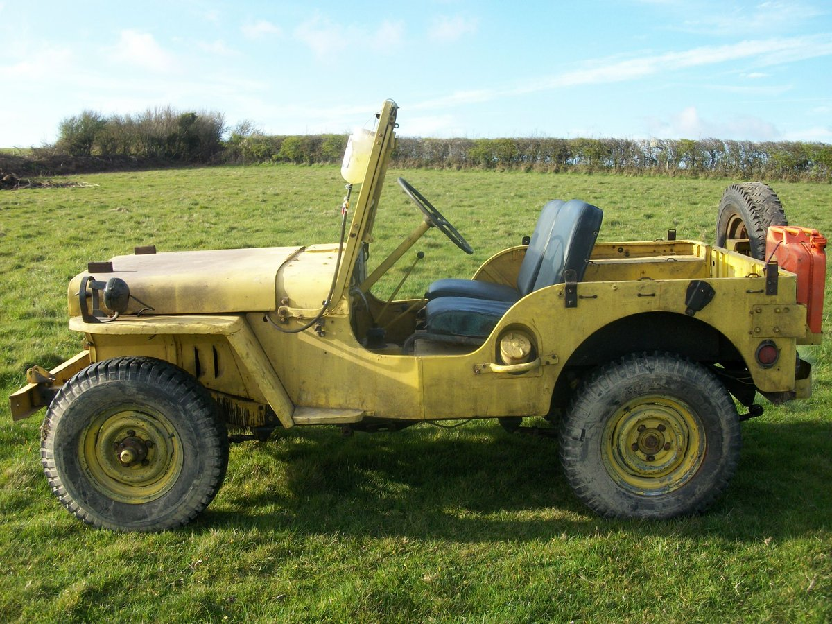 1958 willys m38 military SOLD (picture 1 of 3)