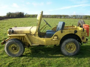 1958 willys m38 military