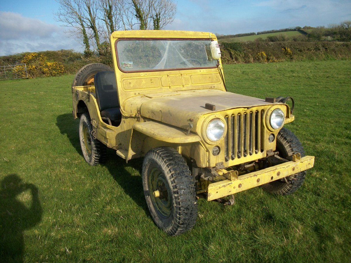1958 willys m38 military SOLD (picture 2 of 3)
