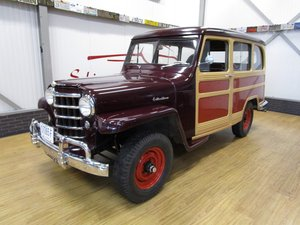 1951 Willys Overland Jeep Station Wagon Woody Look