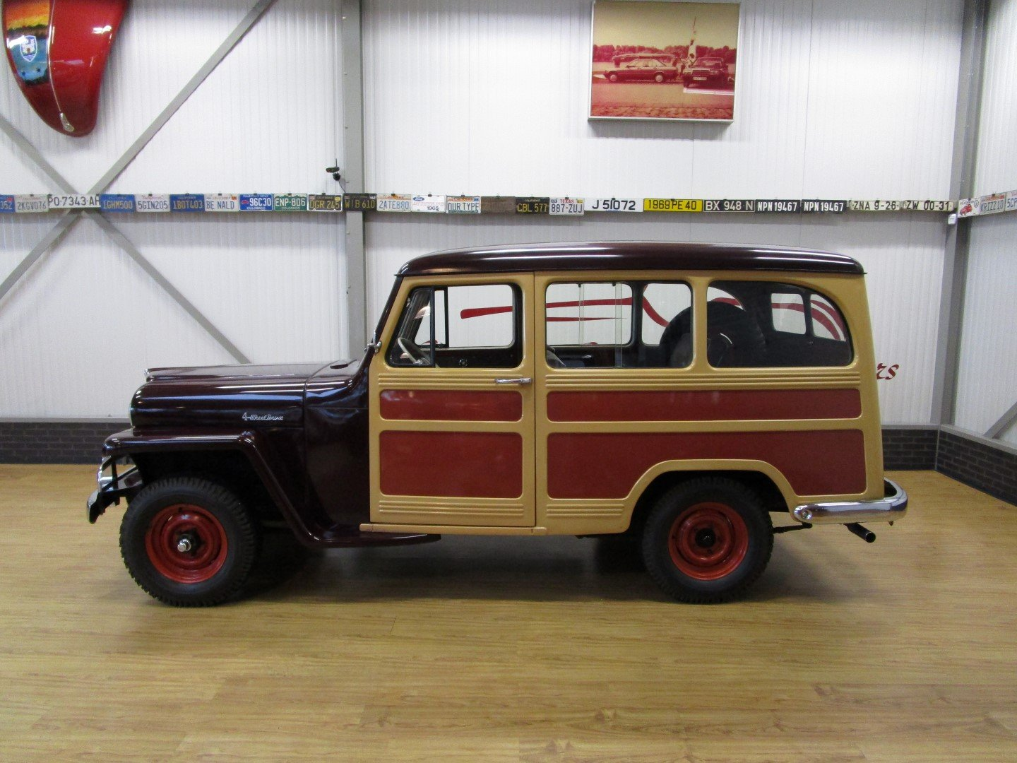1951 Willys Overland Jeep Station Wagon Woody Look For Sale (picture 2 of 6)
