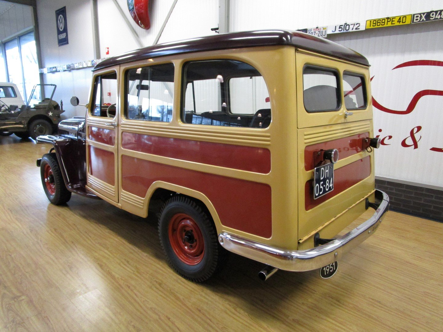 1951 Willys Overland Jeep Station Wagon Woody Look For Sale (picture 3 of 6)