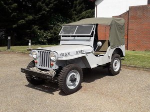 1947 Willys Jeep CJ2A at ACA 15th June  For Sale