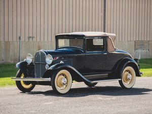 1931 Willys 97A Sport Coupe For Sale by Auction