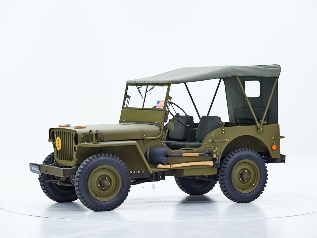 1961 WILLYS MB For Sale by Auction (picture 1 of 1)
