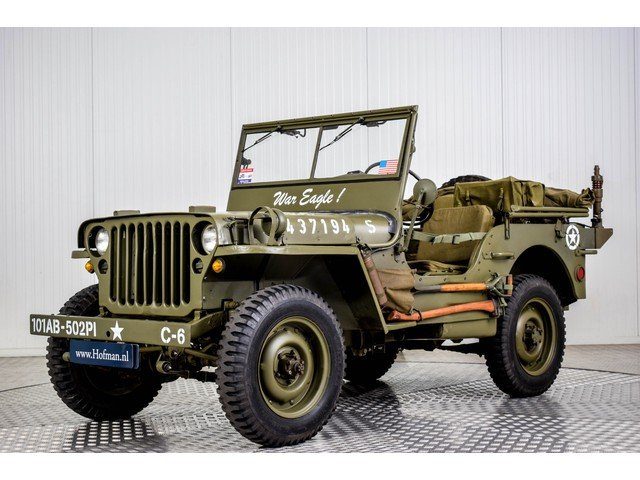 Willys Jeep MB 01-04-1945 For Sale (picture 1 of 6)